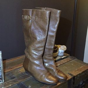 STEVEN INTYCE, Cognac, Leather Boots, sz 9.5